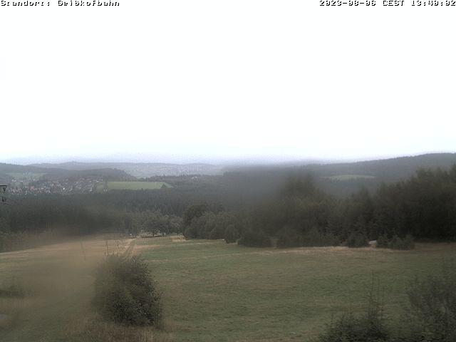 Webcam am Nordhang im Skigebiet Geißkopf zum Snowboarden im Bayerischen Wald