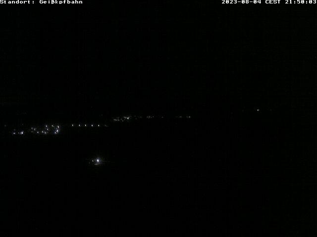 Webcam von der Spitze des Geisskopfes
